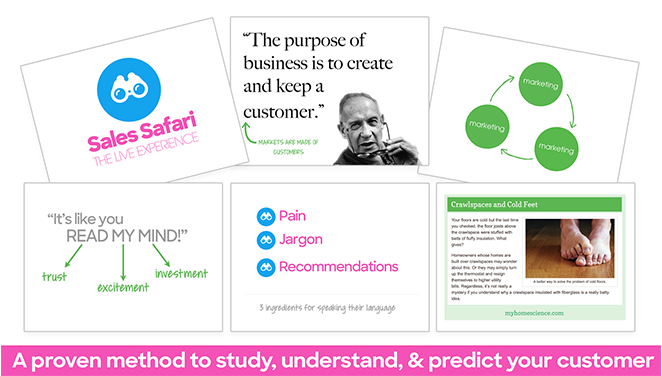 A proven method to study, understand, and predict your customer