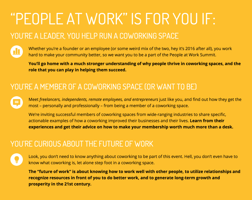People at Work Summit – The people side of Coworking, Collaboration, and the Future of Work 2016-02-10 14-38-47